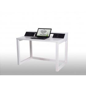 Компьютерный стол с акустической системой CTA 3 Lite White