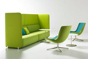Офисная мебель - диван и кресла