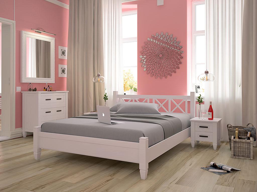 Двуспальная кровать Прованс 160х200 ТМ Албена
