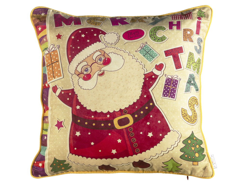 Декоративная подушка Новогодняя сказка 45х45