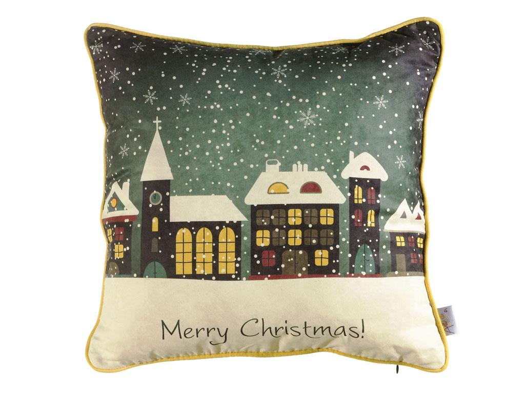 Декоративная подушка Новогодняя сказка