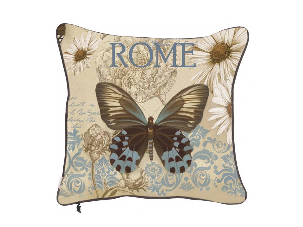 екоративная подушка Полет бабочки-2
