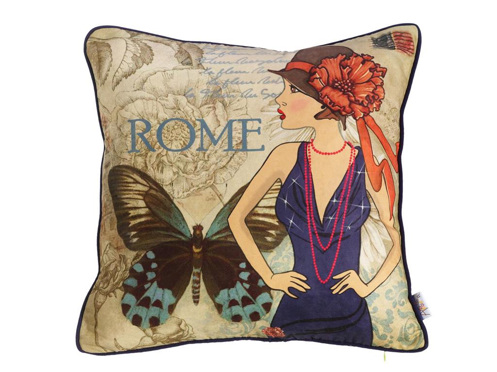 Декоративная подушка Полет бабочки-1