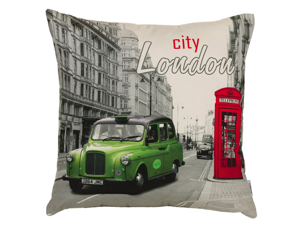 Декоративная подушка Лондон-1