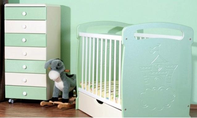Кроватка для новорожденных СидиМ