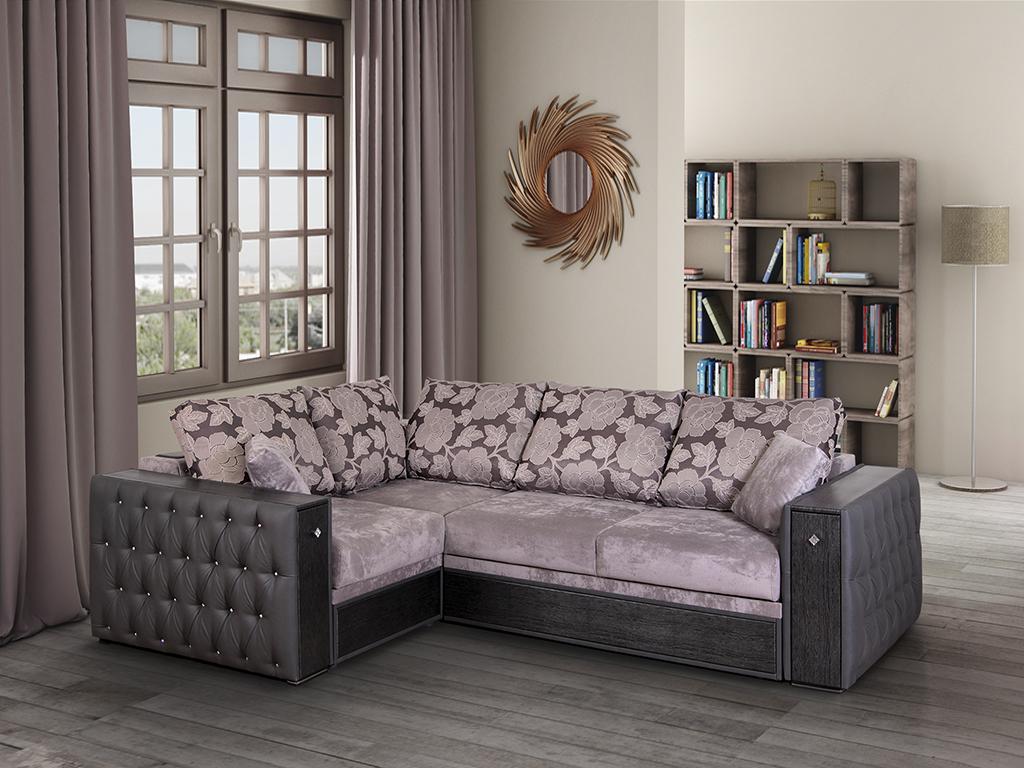 Угловой диван с мини -баром
