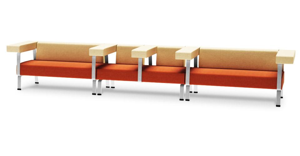 Офисный диван мебельной фабрики DLS
