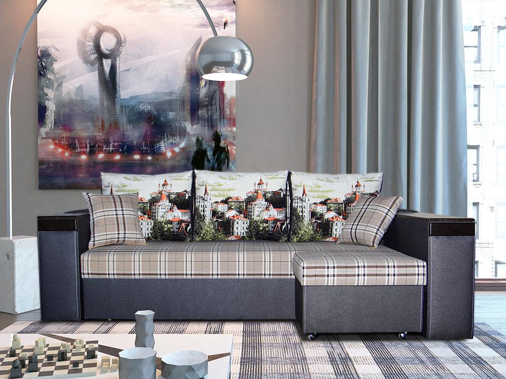 Угловой диван Робин в квартире