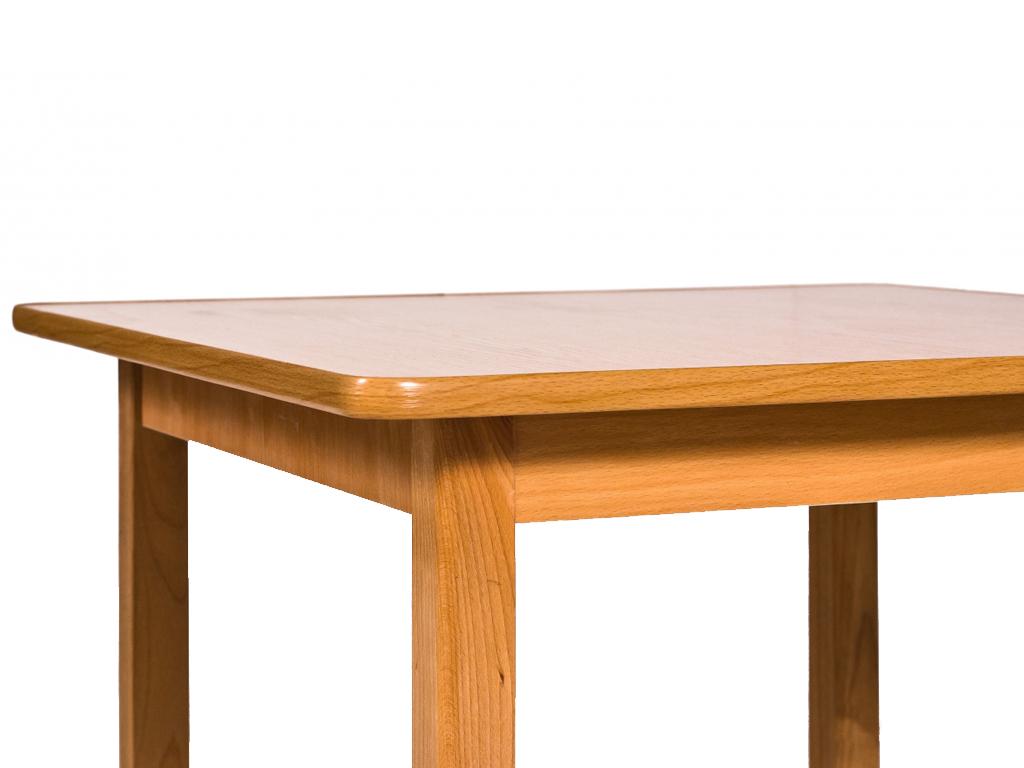 Детский столик с закругленной торцовкой