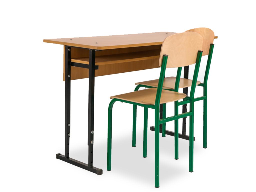 Ученический стол с регулировкой высоты