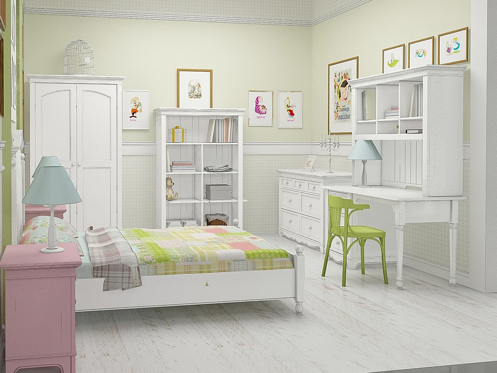 Комплект мебели для детской комнаты Kanon