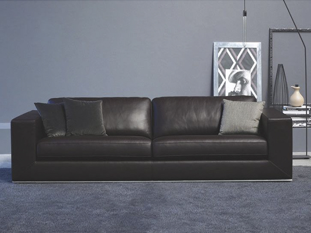 Кожаный диван gomez