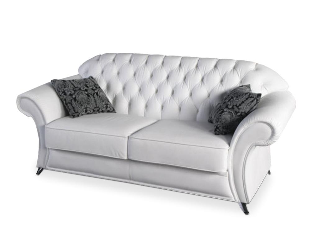 Мягкий кожанный диван