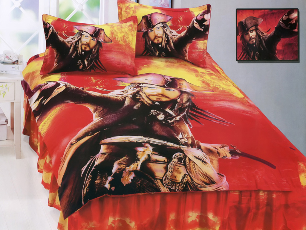Детский комплект постельного белья для мальчика