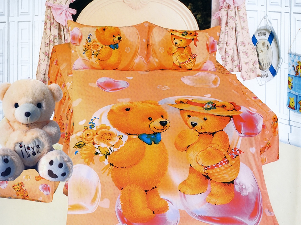 Комплект білизни для дитячої полуторним ліжка. Дитячий комплект постільної  ... 53819271c7514