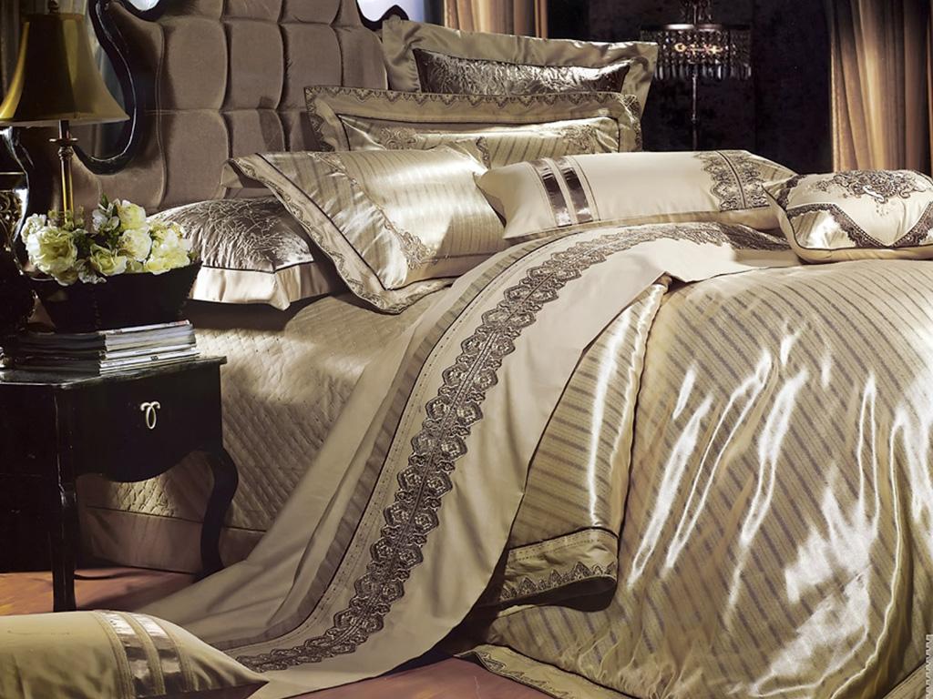 Комплект постельного белья из жаккарда 3D-053