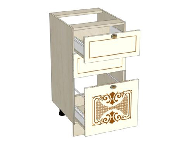 Стол-тумба кухонный с ящиками