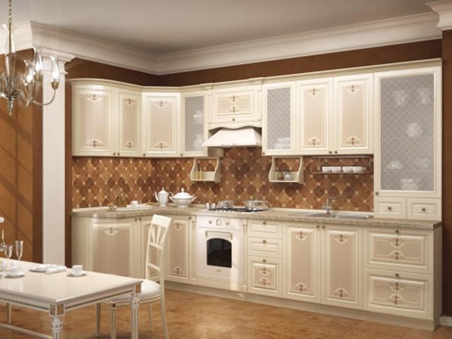 Кухня Ассоль белого цвета ТМ Любимый Дом
