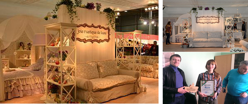 Стенд Экми-мебель на Design Living Tendency 2014- победитель голосования
