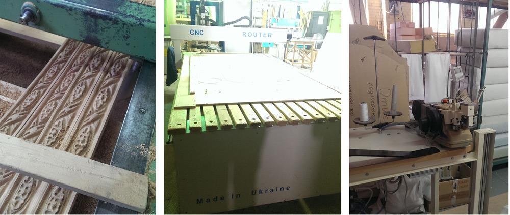 На фабрике много современного и уникального оборудования
