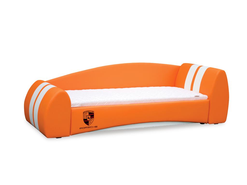 Мягкая кровать Форсаж с подъемным механизмом