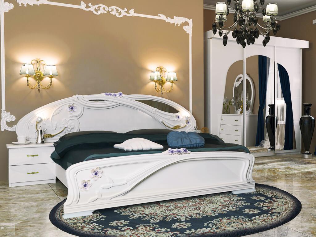 Спальня Лулу в стиле барокко или рококо