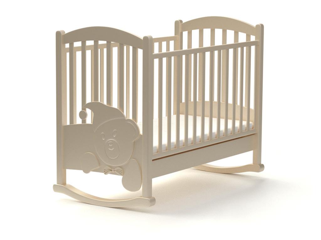 Детская кроватка Медвежонок