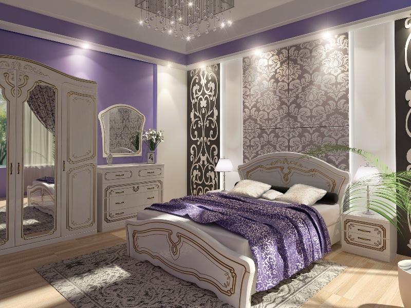 Спальный гарнитур Альба WAM