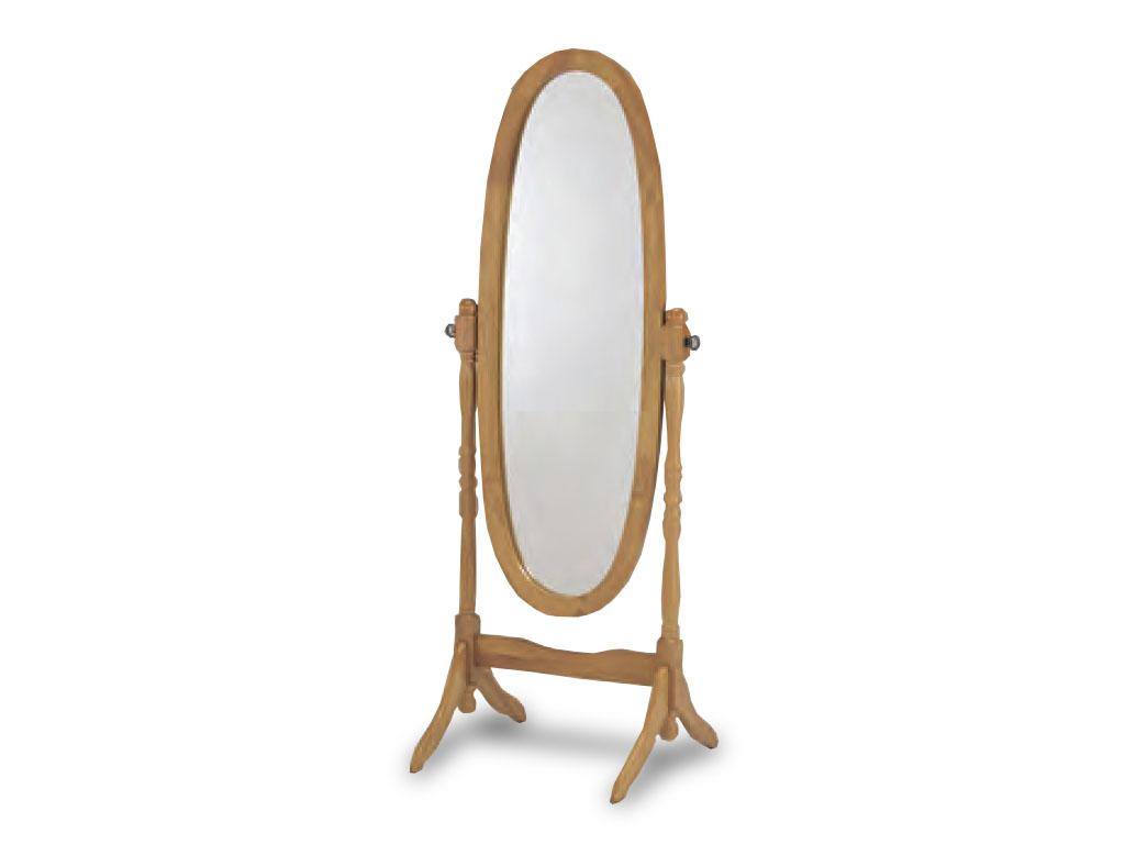 Зеркало овальное напольное