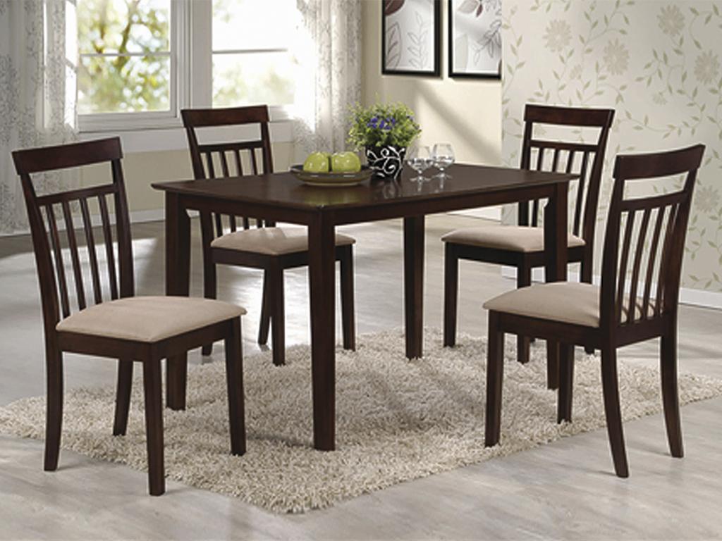 Комплект стола и стульев Кортес