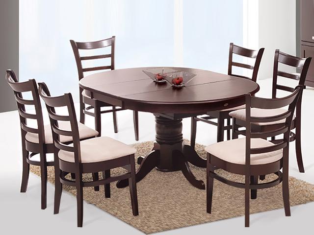 Стол и стулья в комплекте Круглый