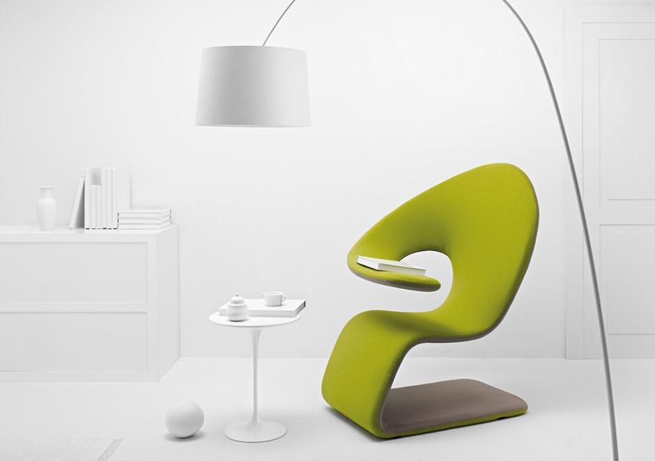 Оригинальный стульчик для чтения