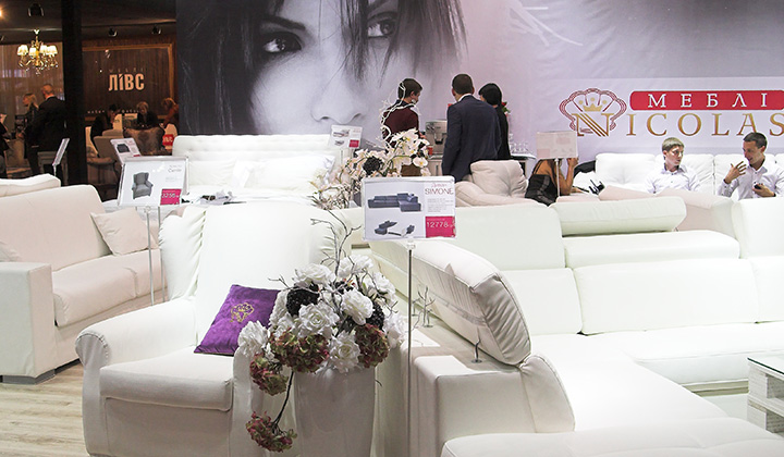 Выставка интерьера и мебели