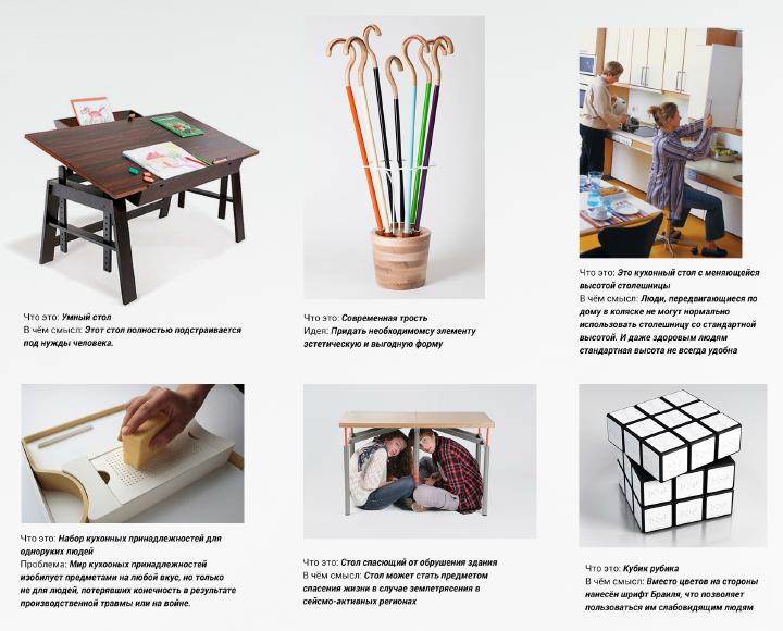 Самые простые примеры объектов осмысленного социального дизайна