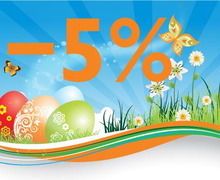 5% скидка на мебель в МебельОк