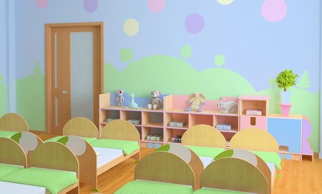 Детские кровати для детского сада