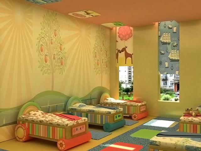 Картинки в детскую спальню в детском саду своими руками 592
