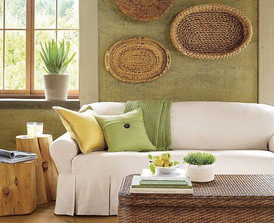 Мебель, текстиль и декор из натуральных материалов