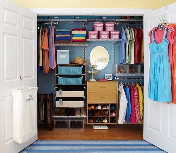 Леди Баг: гардеробная комната
