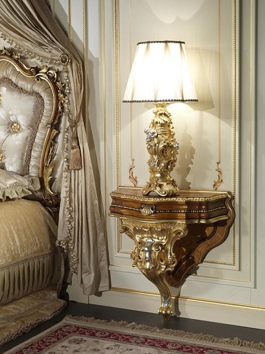 Тумбочка для спальни (стиль барокко)