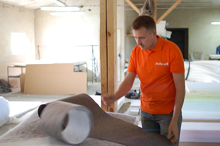 команда МебельОК лично смогла убедиться в высоком качестве комплектующих мягкой мебели