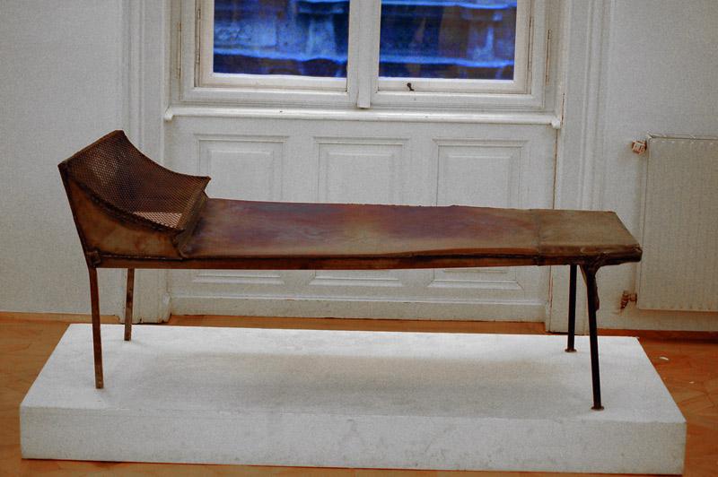 Кушетка Фрейда (музейный экспонат)