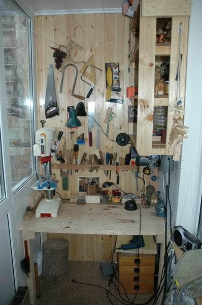 Уголок для домашнего инструмента