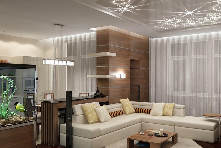 Дизайн гостиной студии фото