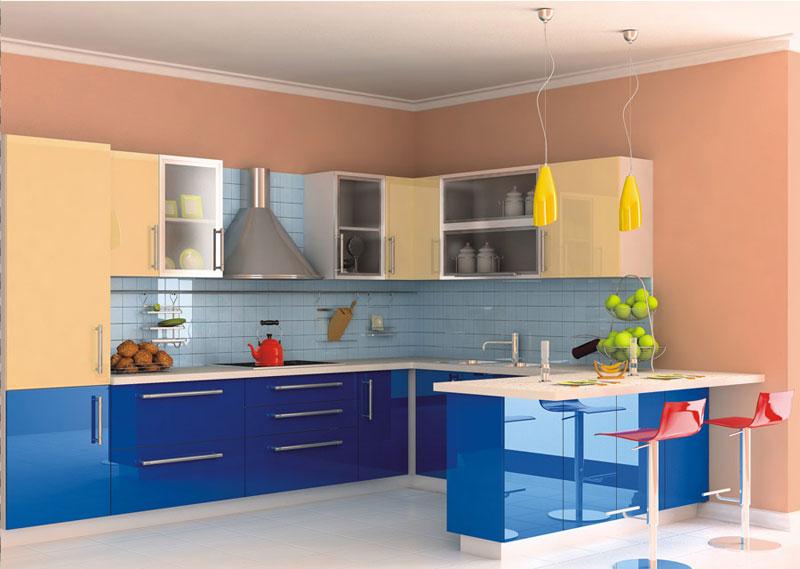 Современная кухня из термопластических полимеров