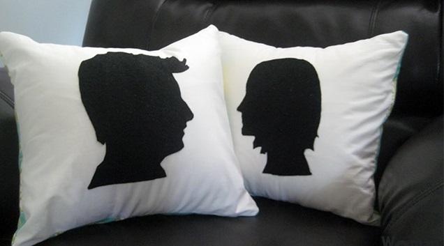 Декоративные подушки для подарков