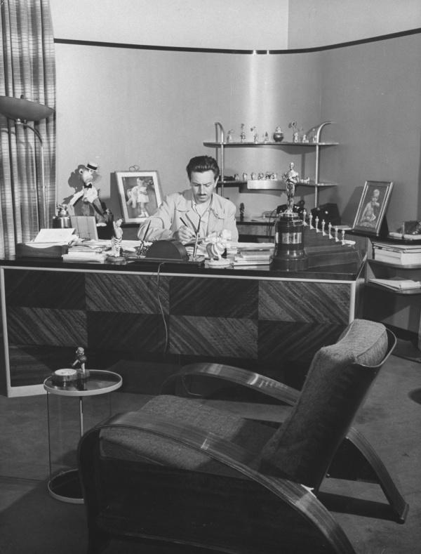 Интерьер кабинета Уолта Диснея