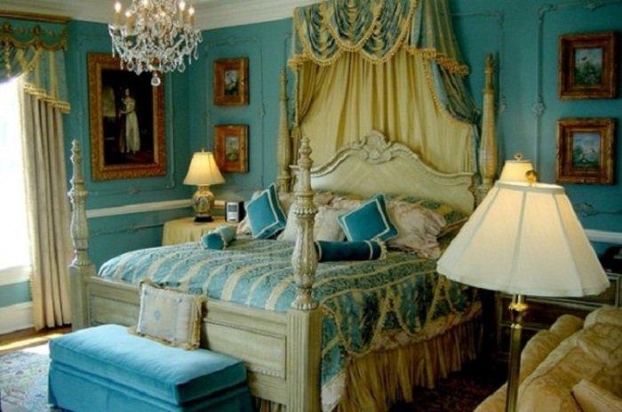 Спальня в стиле возрождение