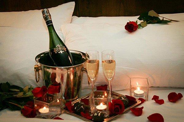 Романтика в спальне