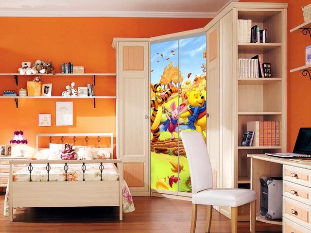 Детская комната со шкафом-купе